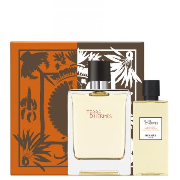 Hermes Terre D'Hermes 100ml Edt + Showergel Geschenkset