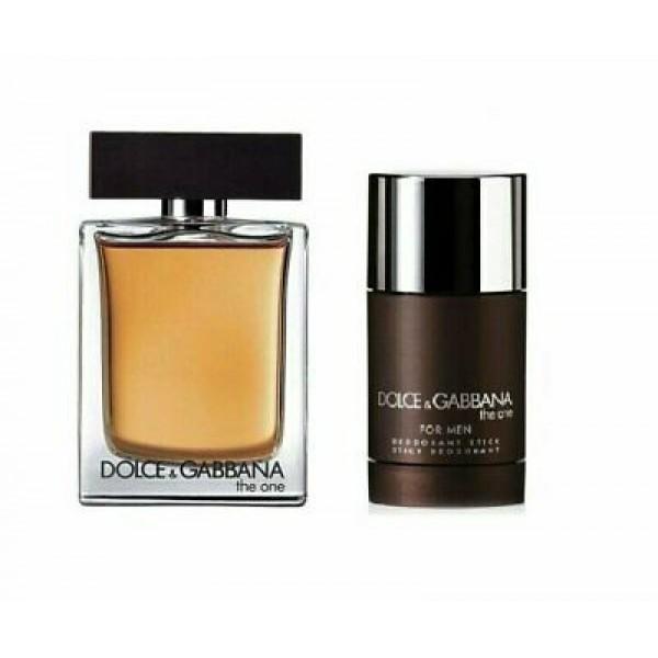 Dolce & Gabbana The One Men 100ml Edt + Deostick Geschenkset