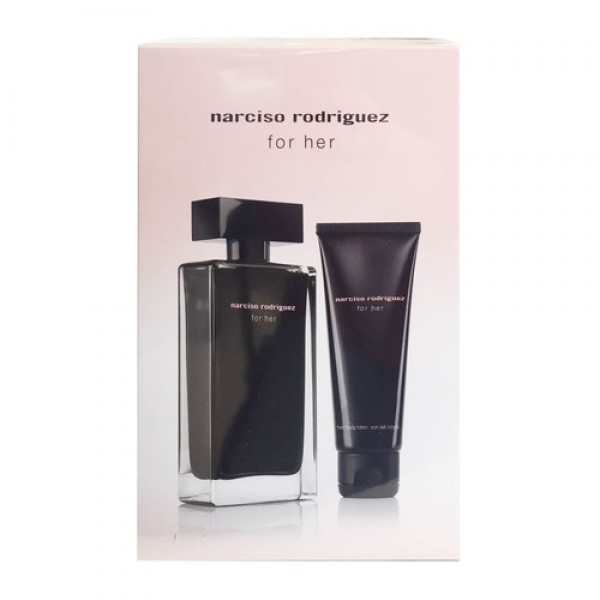 Narciso Rodriguez For Her 100ml Edt + Bodylotion Geschenkset