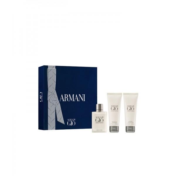 Armani Acqua Di Gio 50ml Edt + Showergel + Aftershave Geschenkset