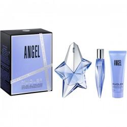 Thierry Mugler Angel 50ml Edp + 10ml Edp + Showergel Geschenkset