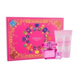 Versace Bright Crystal Absolu 90ml Edp + Mini + Showergel + Bodylotion Geschenkset