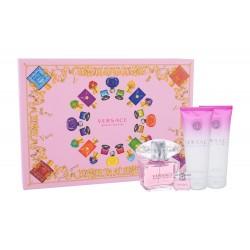 Versace Bright Crystal 90ml Edt + Mini + Showergel + Bodylotion Geschenkset