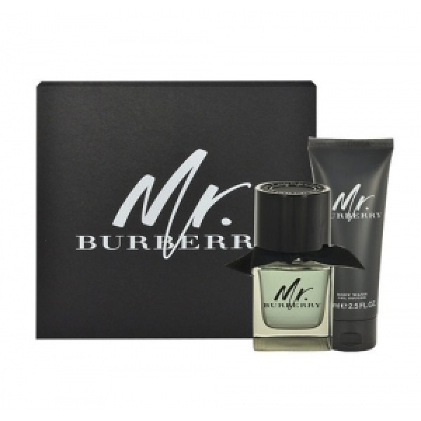 Burberry Mr. Burberry 50 ml edt + 75 ml SG Geschenkset set