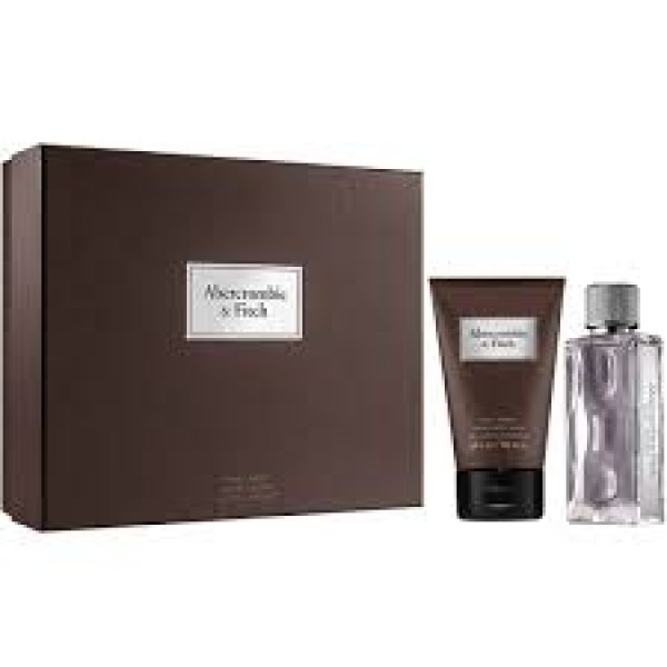 Abercrombie & Fitch First Instinct Men 100 ml  + 200 ml SG Geschenkset