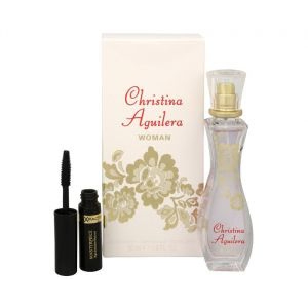 Christina Aguilera  Woman Edp 30ml + Mascara Geschenkset Set