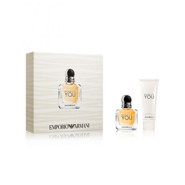 Armani Because its You 30 ml edp + BL 75 ml  Geschenkset