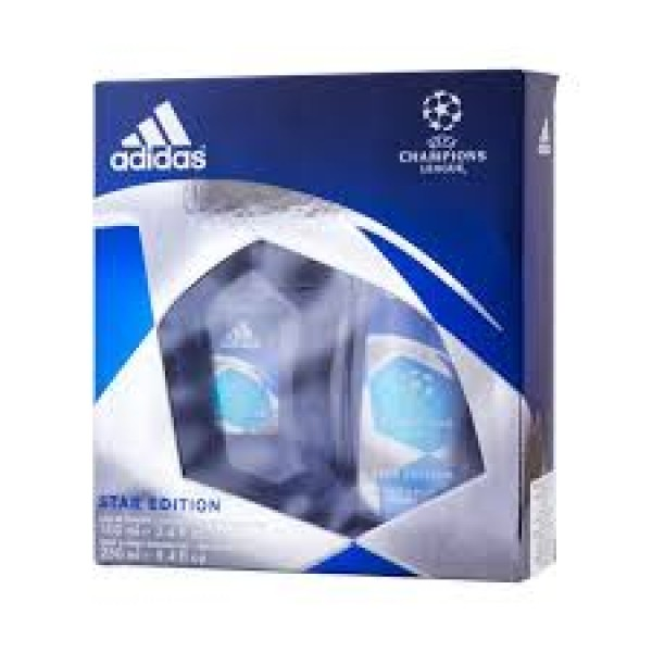 Adidas Champions League 100 ml Edt + 250 ml Showergel Geschenkset