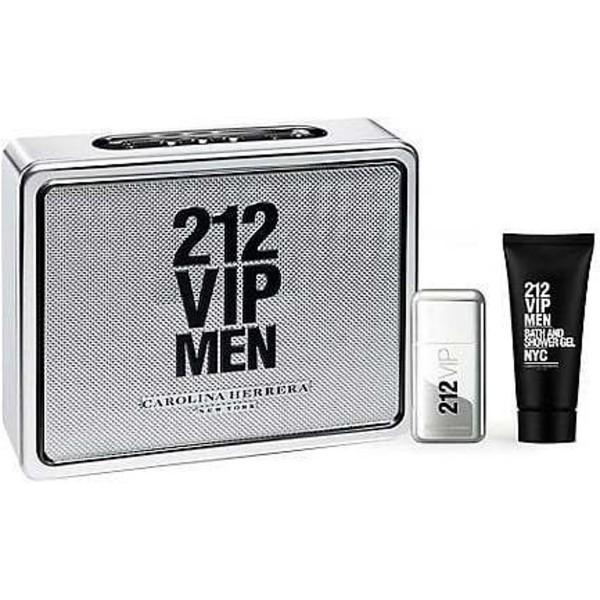 Carolina Herrera 212 VIP Men 50 ml Edt + 75 ml Showergel Geschenkset