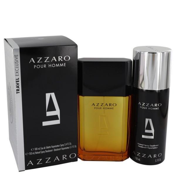 Azzaro Pour Homme 100 ml Edt + 150 ml Deospray Geschenkset