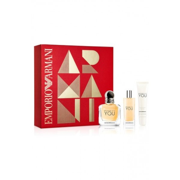Armani Because It's You 100 ml Edp + 75 ml SG + 75 ml BL Geschenkset