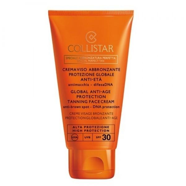 Collistar Globale Anti Age Prot Tanning Face SPF 30  Sun Care 50 ml