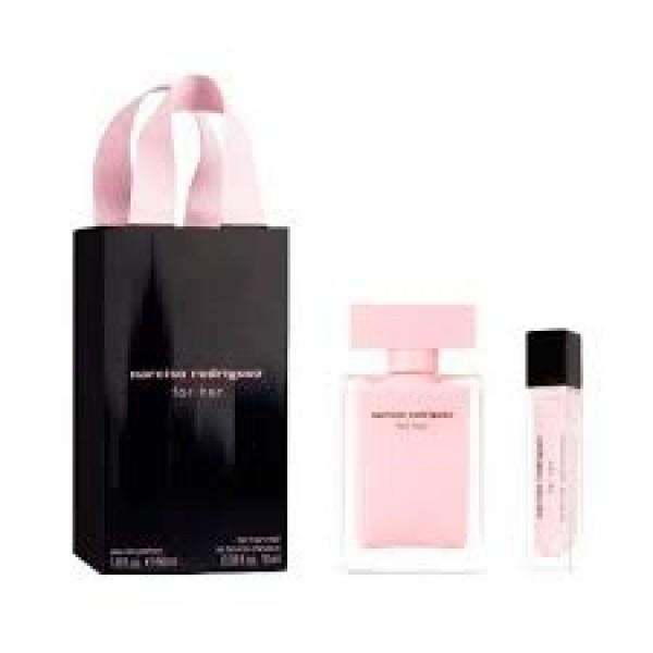 Narciso Rodriguez For Her 50 ml Edp + Hair Mist 10 ml Geschenkset set
