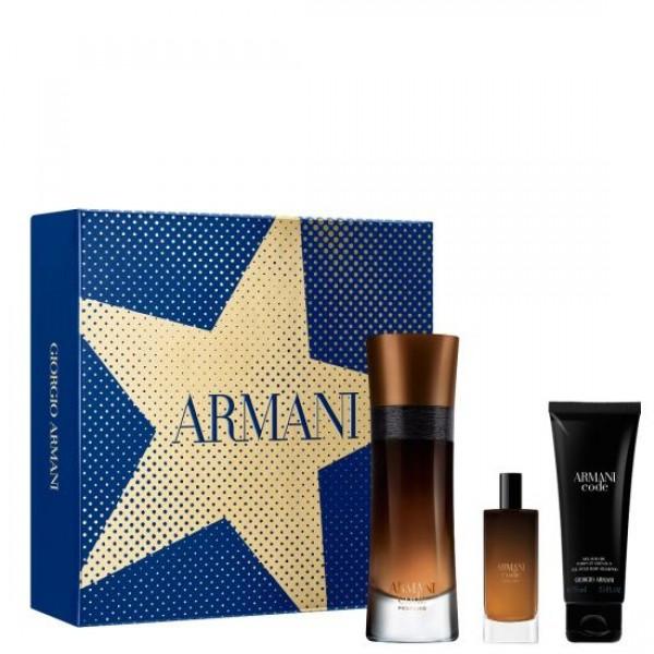 Armani Code Profumo 60ml Edp + 15ml Edp + Douchegel Geschenkset