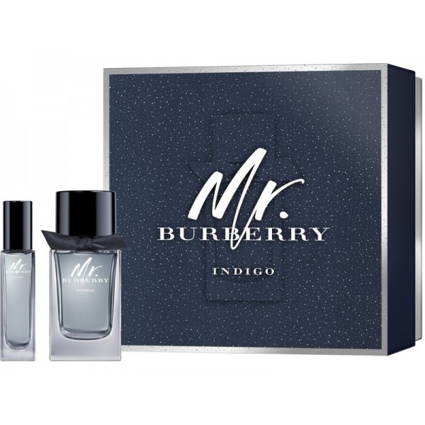 Burberry Mr Burberry Indigo 100 ml Edt +30 ml Edt Geschenkset