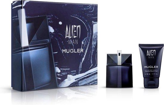 Alien Man 50ml Edt + Hair & Body Shampoo - Thierry Mugler set