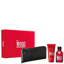 Red Wood 100ml Edt + Showergel + Wallet - Dsquared2 set