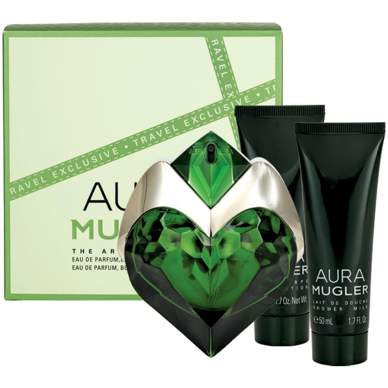 Aura 50ml Edp + Showergel + Bodylotion - Thierry Mugler set