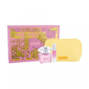 Bright Crystal 90 ml Edt + 10ml Edt + Cosmetic Bag - Versace set