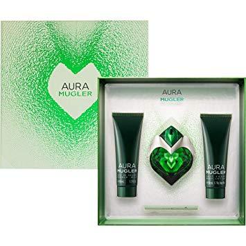 Aura 30 ml Edp Refillable + Showergel + Bodylotion - Thierry Mugler set